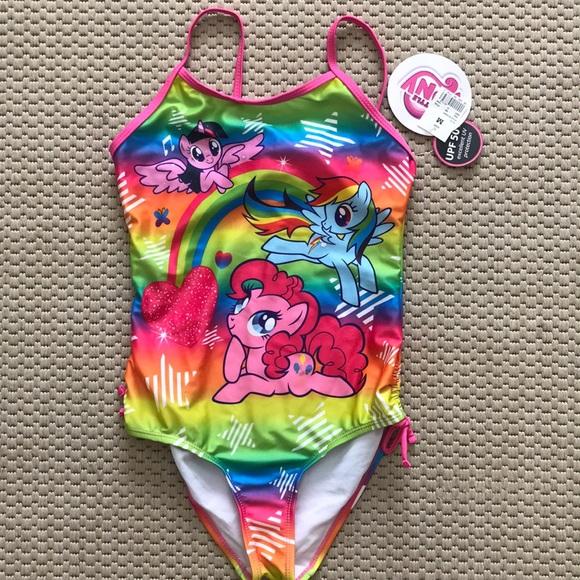 Girls My Little Pony Swimming Costume